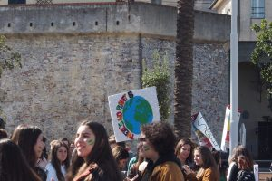 sciopero per il clima Genova