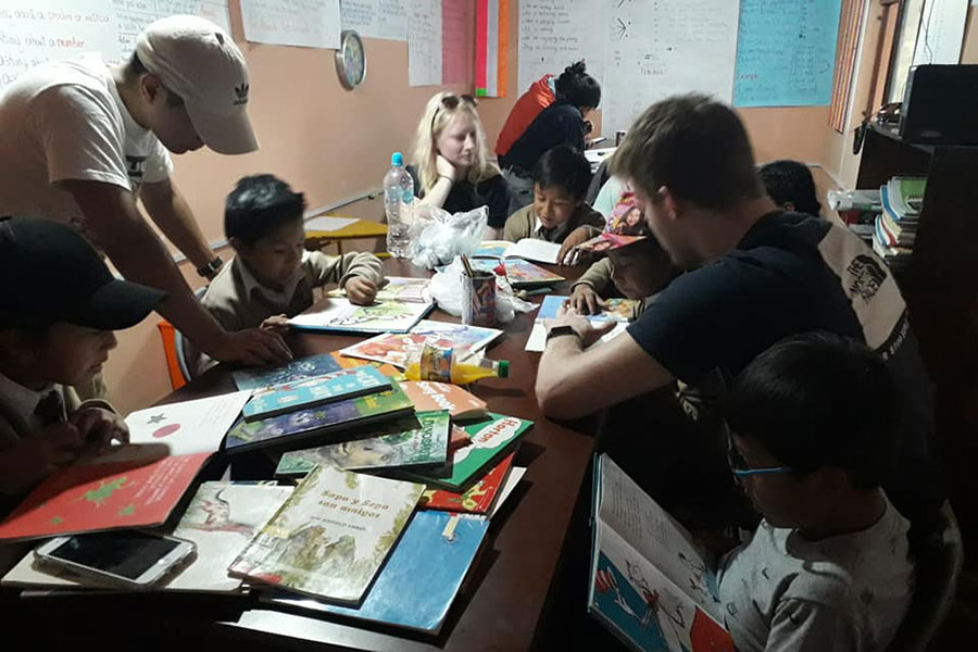 Volontariato in Ecuador con Arte del Mundo