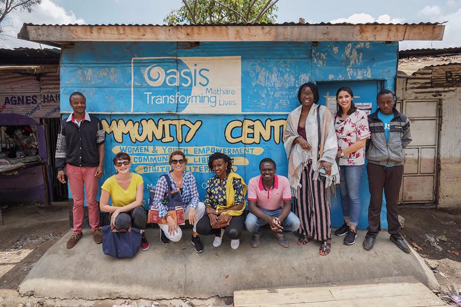 Volontariato in Kenya con Oasis Mathare