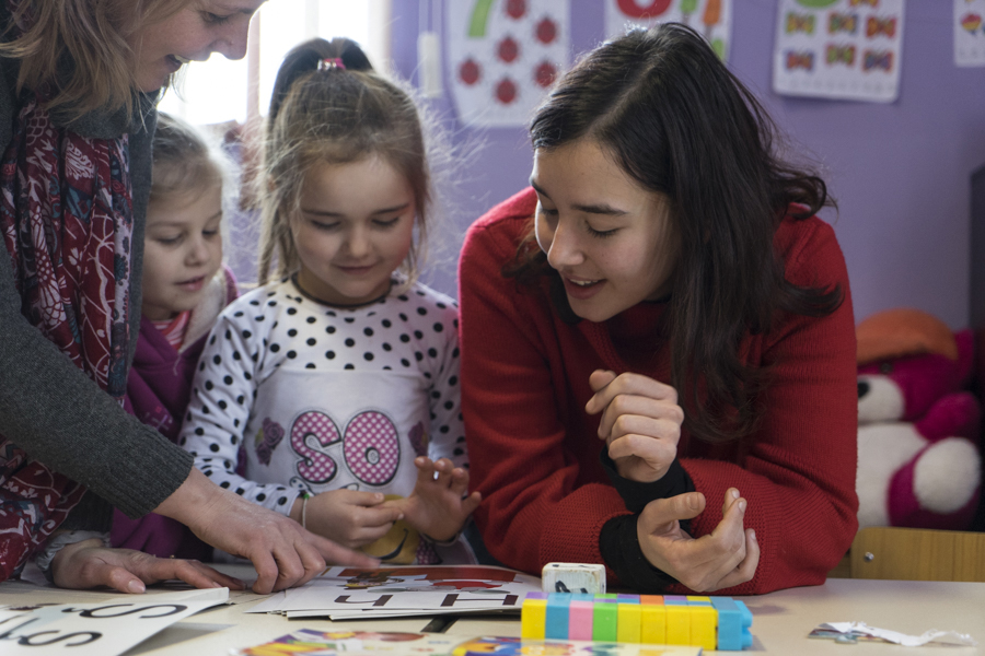 Volontariato in Romania con Il Giocattolo