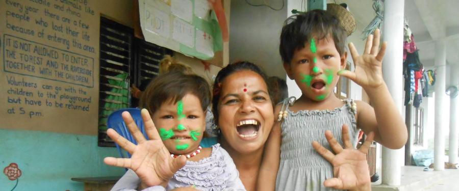 Una famiglia che accoglie- Nepal