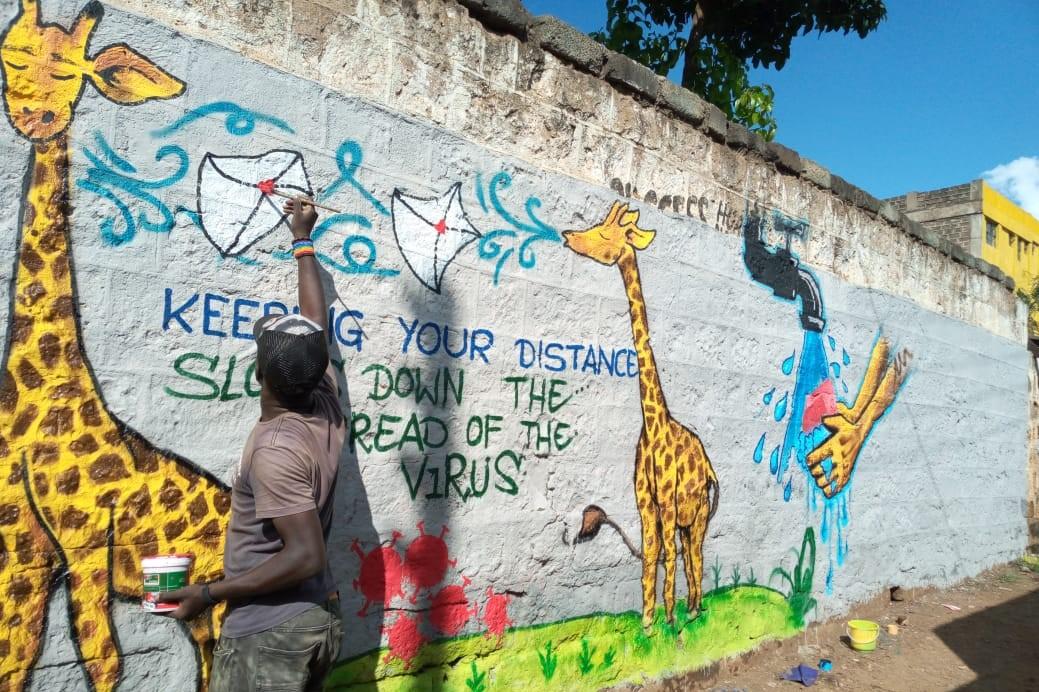 Covid negli slum di Nairobi