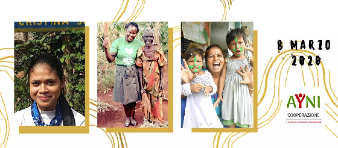 Donne e volontariato internazionale
